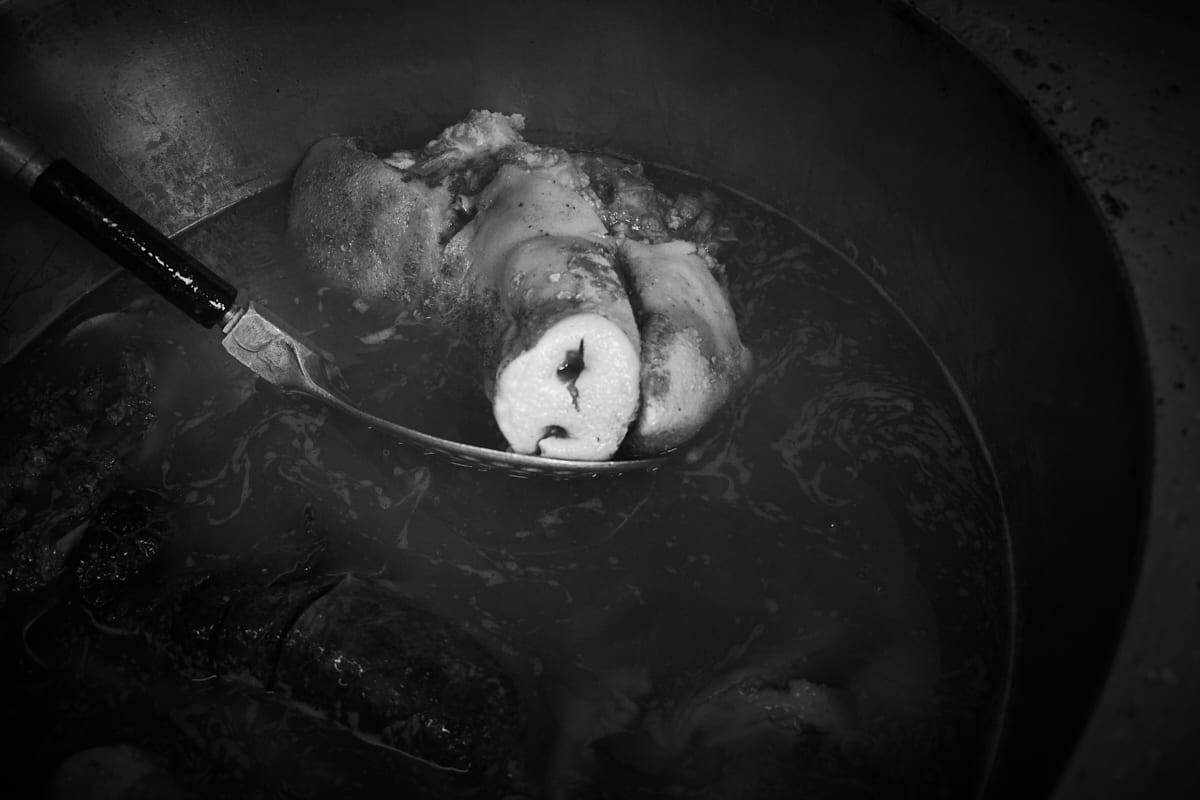 Hausschlachtung – Schädel 2